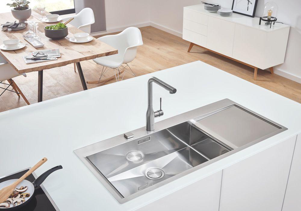 GROHE: Premium-Spülen - GWI Gas- Wasser- Installation GmbH | Hamburg
